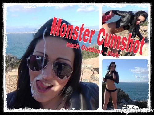Monster-Cumshot! Megageil