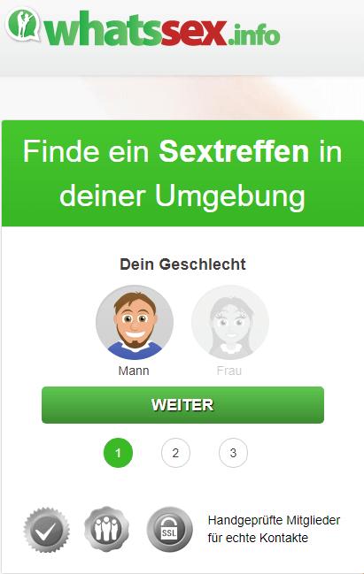WhatsApp Sex Treffen in deiner Umgebung
